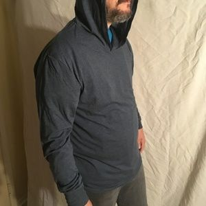 Next Level Apparel Tri-blend hoodie Indigo XL